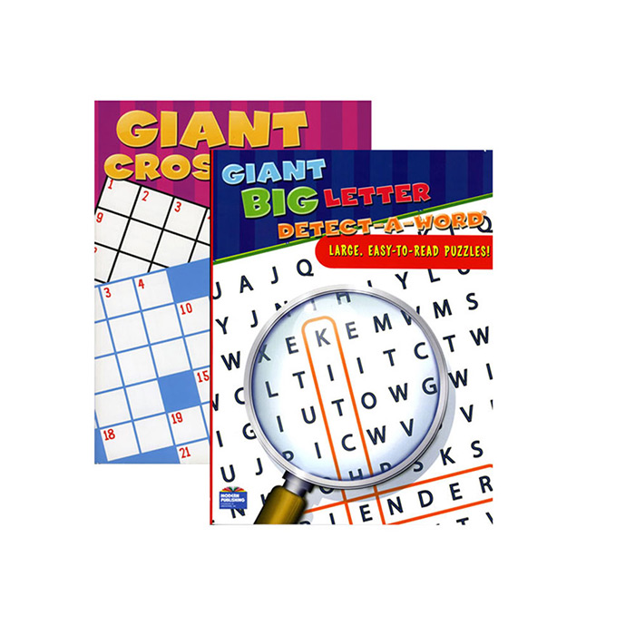 Assorted Jumbo Puzzle Book